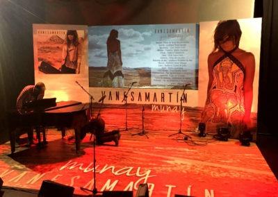 Diseño Decoración Presentación del Album Munay Vanesa Martín Rojo Pistacho 1