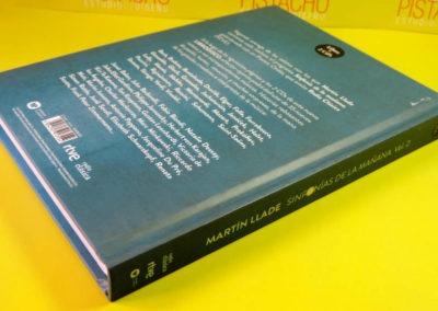 Diseño Libro disco Sinfonias de la Mañana Vol 2 Rojo Pistacho 2