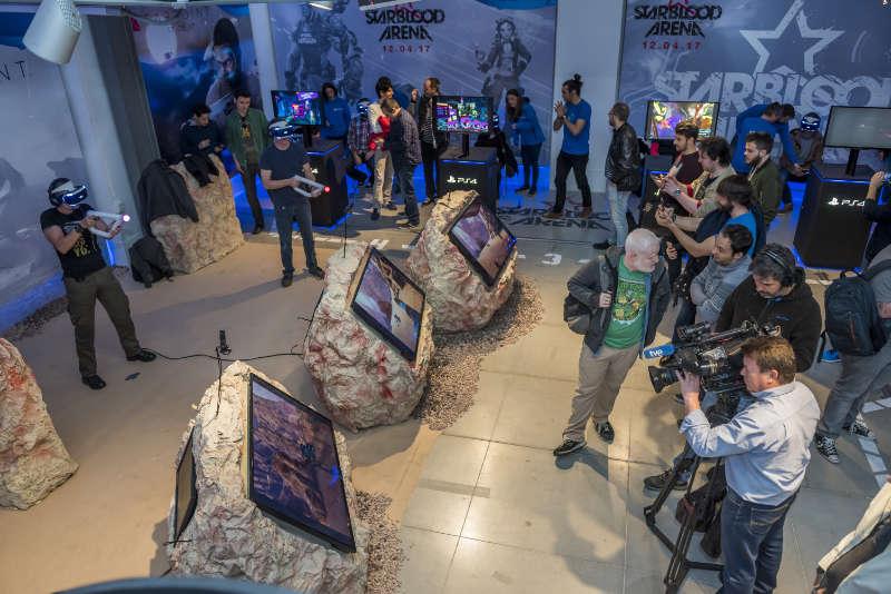 Presentación de Videojuegos VR Play Station