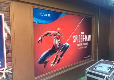 Diseño decoración presentación videojuego Spiderman Rojo Pistacho 3
