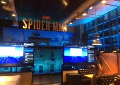 Diseño decoración presentación videojuego Spiderman Rojo Pistacho 5