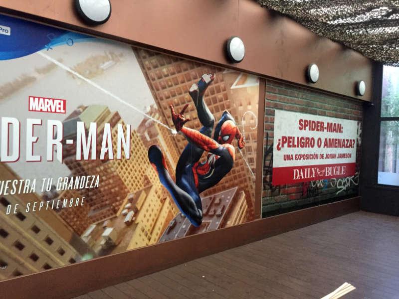 Presentación del videojuego «Spiderman»