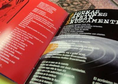 Diseño disco Def Con Dos Trending Distopic Rojo Pistacho 7