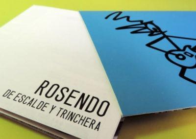 Diseño disco Rosendo De Escalde y Trinchera Rojo Pistacho 3