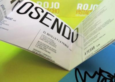 Diseño disco Rosendo De Escalde y Trinchera Rojo Pistacho 4