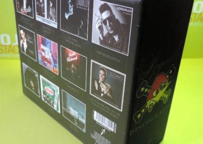 Diseño edición especial Discografía Loquillo Rojo Pistacho 2