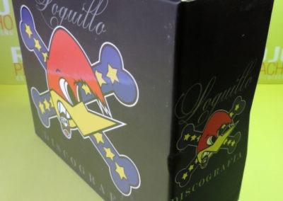 Diseño edición especial Discografía Loquillo Rojo Pistacho 3