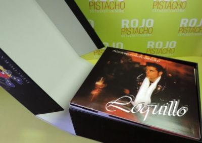 Diseño edición especial Discografía Loquillo Rojo Pistacho 4
