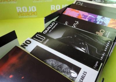 Diseño edición especial Discografía Loquillo Rojo Pistacho 5