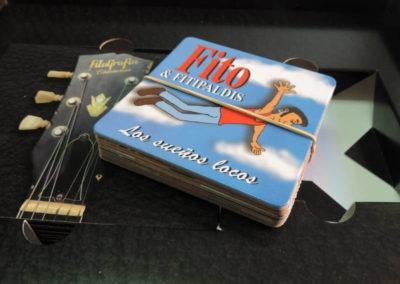 Diseño edición especial Fitografía Fito y Fitipaldis Rojo Pistacho 6