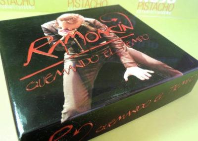 Diseño edición especial Ramoncín Quemando el tiempo Rojo Pistacho 1