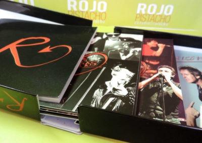 Diseño edición especial Ramoncín Quemando el tiempo Rojo Pistacho 2