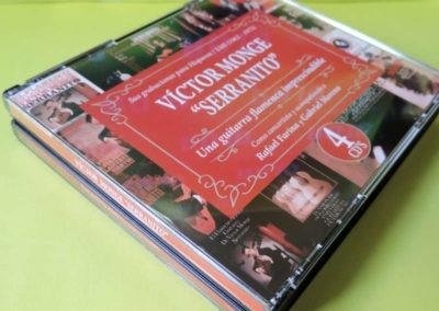 Diseño edición especial Victor Monje Serranito discografía Rojo Pistacho 1