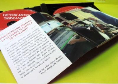 Diseño edición especial Victor Monje Serranito discografía Rojo Pistacho 4