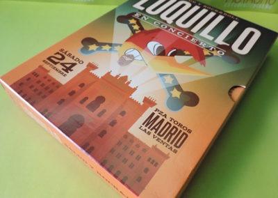 Diseño edición especial disco Salud y RockRoll Loquillo 1