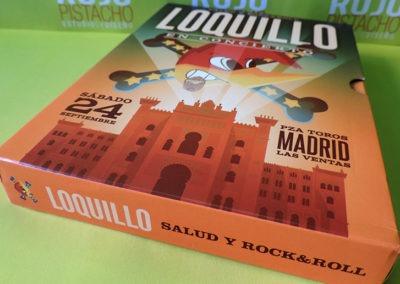 Diseño edición especial disco Salud y RockRoll Loquillo 2