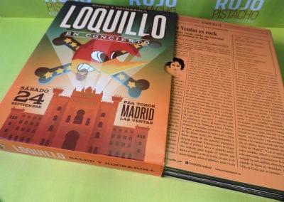 Diseño edición especial disco Salud y RockRoll Loquillo 3
