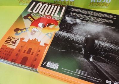 Diseño edición especial disco Salud y RockRoll Loquillo 4