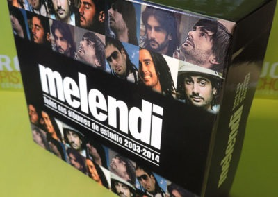 Diseño edición especial discografía Melendi 1