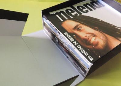 Diseño edición especial discografía Melendi 3