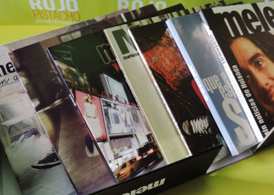 Diseño edición especial discografía Melendi 4