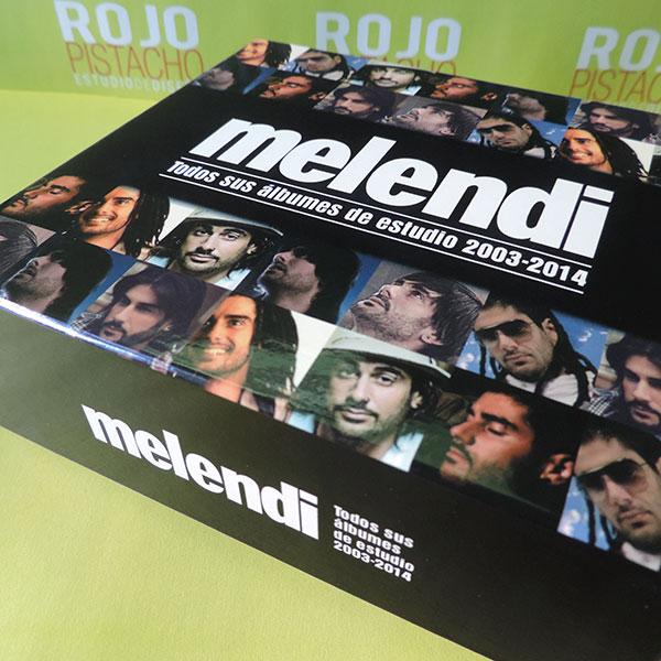 Melendi – Todos sus álbumes de estudio 2003-2014
