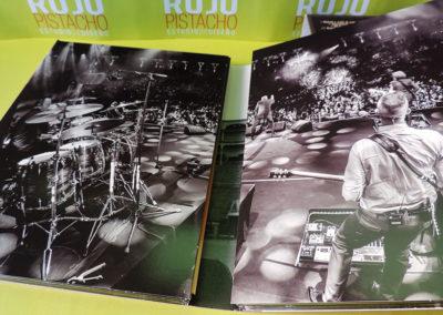Diseño interior CDs DVD Salud y RockRoll Loquillo 1
