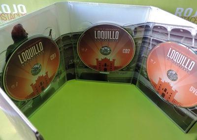 Diseño interior CDs DVD Salud y RockRoll Loquillo 2