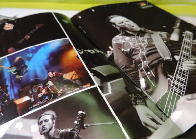 Diseño libreto CDs DVD Salud y RockRoll Loquillo 3