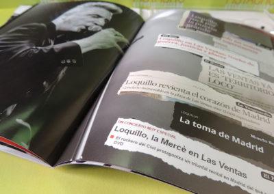 Diseño libreto CDs DVD Salud y RockRoll Loquillo 4
